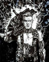 Deadpool 2 : Cable by Graymalkin2112