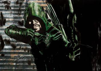 Green Arrow by Graymalkin2112