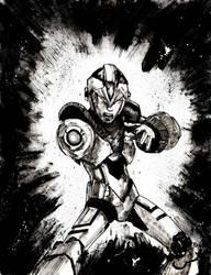 Mega Man by Graymalkin2112