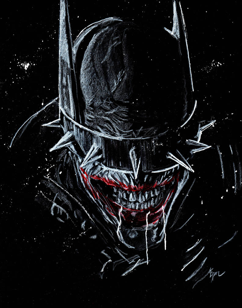 The Batman Who Laughs by Graymalkin2112