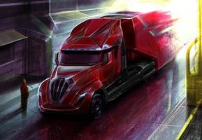 Truck Peterbilt RIG Gen 2 by MatiasMurad