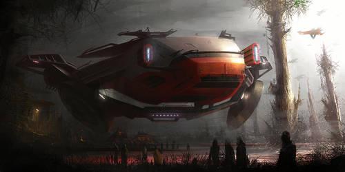 starwars jungle vehicle by MatiasMurad