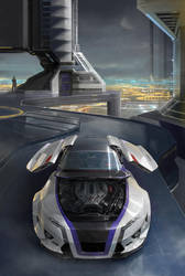 Car design by MatiasMurad