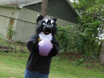 I got da ball by Wolffy42