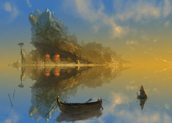 fishing trip dreaming by dimarinski