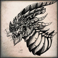 Deathwing by giantdragon