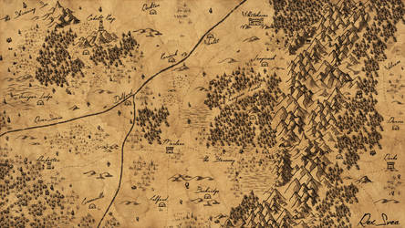Map of Laressa by RexSvea