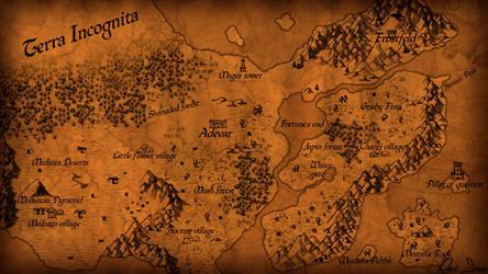 Map of Adevar by RexSvea