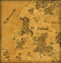 Map of Falonde by RexSvea