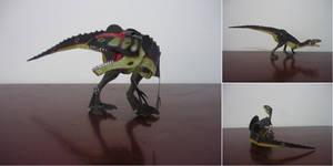 Eustreptospondylus oxoniensis by Hoatziraptor
