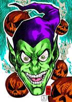 Enter the Green Goblin by CDL113