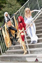X-Men Girls by MadRakele