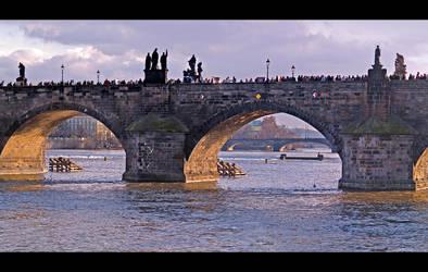 Charles Bridge by KeldBach