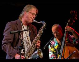 Sax and Bass by KeldBach