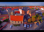 Birds Eye View of My Hometown by KeldBach
