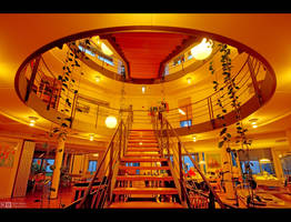 Indoor Balcony by KeldBach
