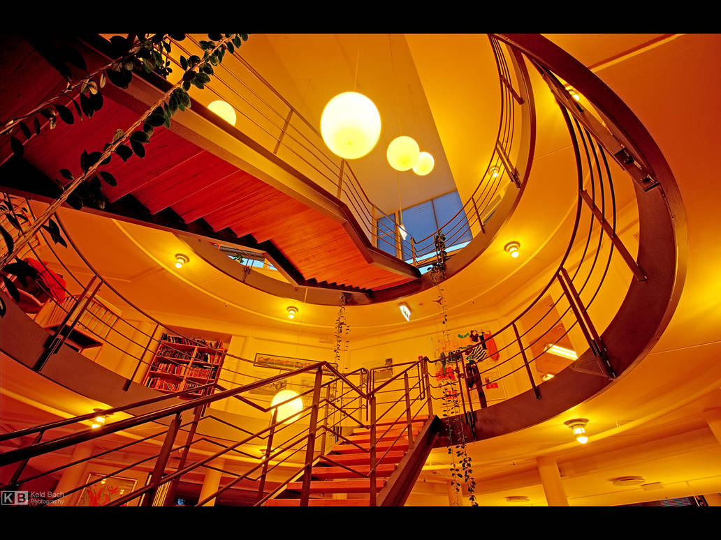 Circular Interior by KeldBach