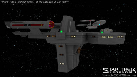 USS Antares and USS Enterprise : Charlie X by STLegends