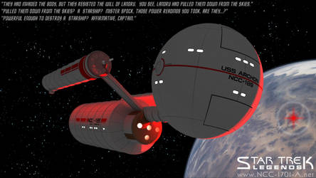 Star Trek - The USS Archon (Daedalus Class) by STLegends