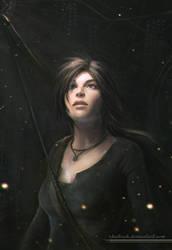 Lara Croft by shalizeh