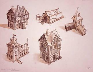 Houses Design by oka-toka