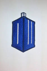Dr Who (DW) logo patch by ScrwLoose