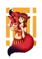 Secret Santa for Red-Kitty by Zenith30000