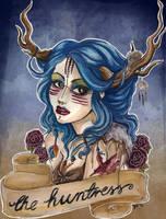 huntress by koffinkandy