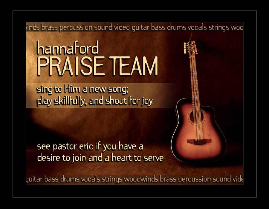 Praise Team Recruitment by ecpowell