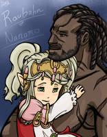 Raubahn and Nanamo by Diyne