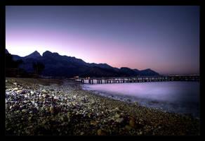 Kemer Beach by mutos