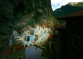 Sumela Monastery by mutos