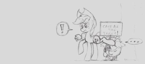 MLP Random Sketch 1 by jelliPANDA