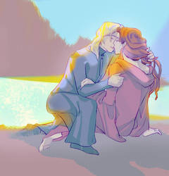 Gellert and Albus by Teatham