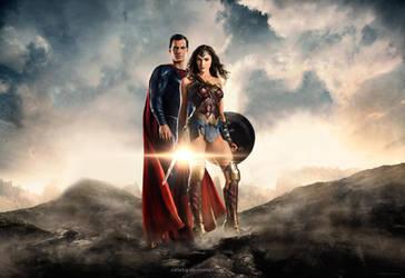 Justice League 2017 - SuperWonder edit by cellebg