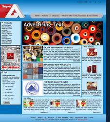 Super A website by M3webz