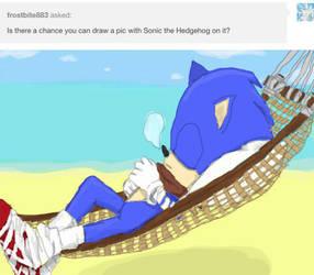 Sonic Sleeping by shinoahD