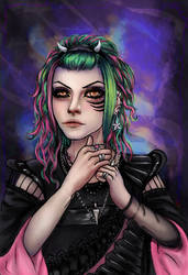 Cute Demon by MSilenceART
