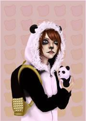 Panda Aidyn by MSilenceART