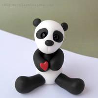 Panda Love by i-be-c