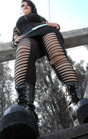 Goth Girl2 by DrSatana