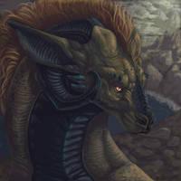 Liverspot Dragon by rajewel