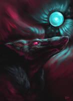 False Moon by rajewel