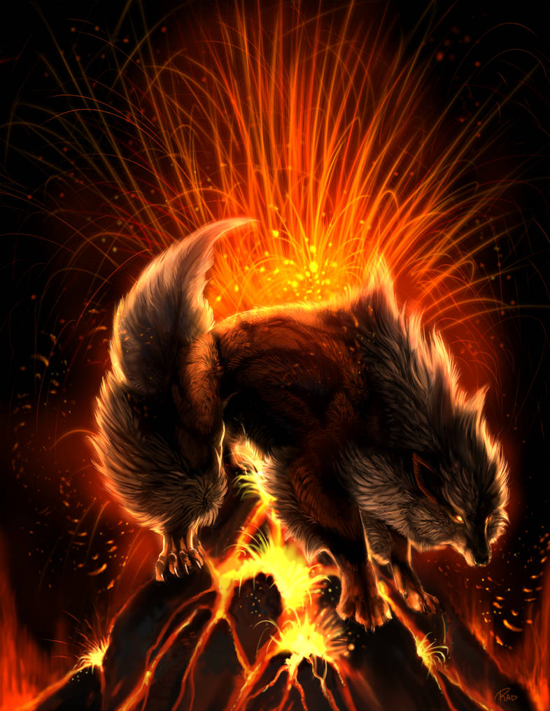 Eruption by rajewel