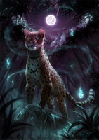 Leopard Fire by rajewel