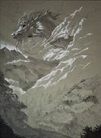 Inktober- Clouds by rajewel