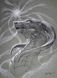Inktober- Spirit Drain by rajewel