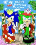 birthday boys (happy 27th birthday sonic ) by 4sonicfan