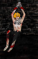 Chained Ichigo by elistax9