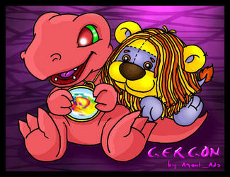 Gergon for Kelpie by feli